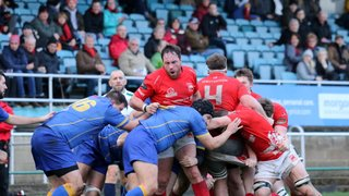 Seven Try Victory  Keeps 1st XV Top Of  League