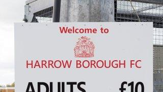 HARROW BOROUGH v Merstham, Saturday 9th September 2017