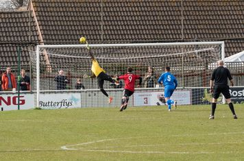 Melvin Minter saves Borough again from another free kick