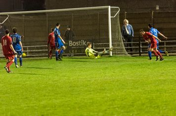 ...and scores from a narrow angle