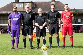 Mr Muge and his Assistants and Captains Sol Patterson-Bohner and Mark McLeod