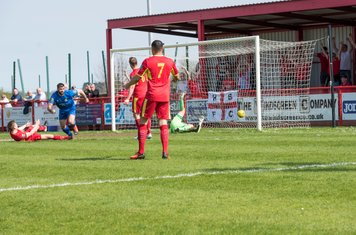 ...and into the goal