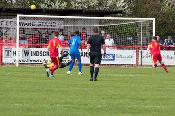 ...and Melvin Minter makes an excellent save...