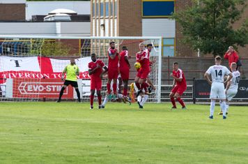 ...but the Borough wall stands firm and the match ends 2 - 2