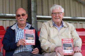 Salisbury's loyal away supporters