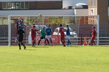 After a lot of Salisbury pressure, Jacob Wannell heads home from a corner (0 - 1, 72 mins)...
