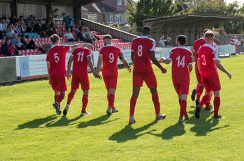 Borough's determination and persistence earns them a 91st minute equaliser against an impressive Salisbury side who had dominated much of the game