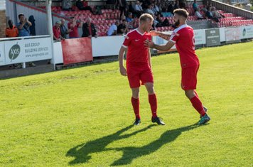 The two Ryans celebrate...