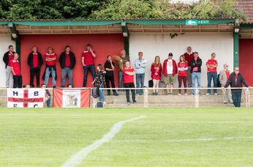 The Borough supporters are subdued as their hopes of a replay recede