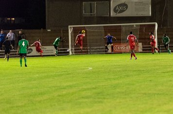 Shaquille Hippolyte-Patrick heads Hendon back into the game. 3 -1 (21 mins)