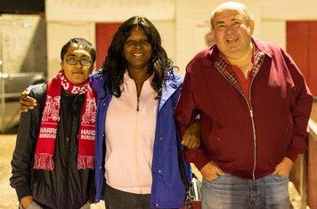 Plenty of support for Borough's U23s