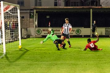 ...and Excellence Muhemba scores Borough's 4th goal