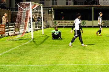 Harry Rush opens the second half with his second goal