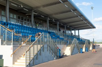 A nice new grandstand...