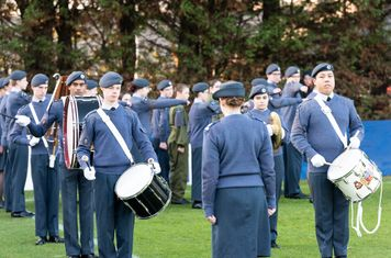 The RAF Cadets Band