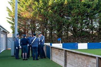 The RAF Cadets gather