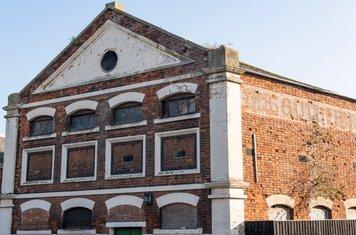 Built 1841, originally the Aylesbury Dairy Company Cheese Factory...