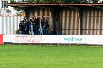 Youthful Borough fans provide vocal support