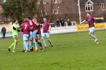 ...and Taunton score their second goal from the resulting free kick