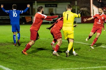 ...and celebrates his 94th minute winner