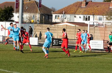 ...and the header from the corner goes wide