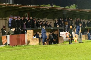 A competitive match and a mild evening for the supporters