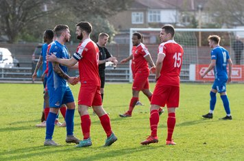 ...as Borough are unable to score in the second half and go down 2 -1  to Frome Town
