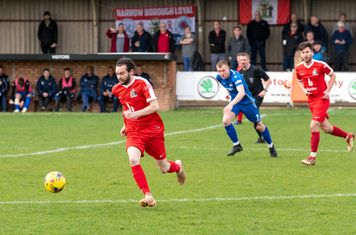 ...and Michael Bryan is able to sprint away