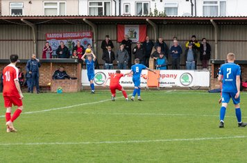 Borough support is rather thin, despite the Spring sunshine