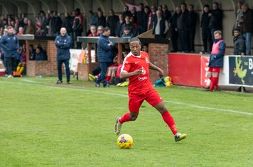 Gianni Crichlow gets his chance in the second half