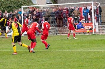 Chesham United's first goal