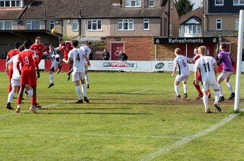 ...and Borough get heads to the ball