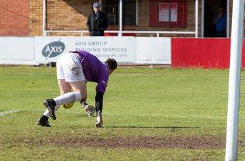 ...but Gerard Benfield's goal survives...