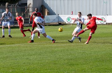 Lewis Cole shoots narrowly wide