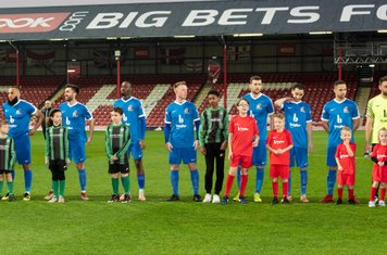 The Borough team and mascots