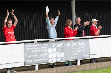 ...and the Borough fans...