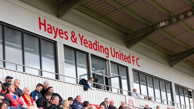 Hayes & Yeading FC v HARROW BOROUGH, Tuesday 13th August 2019