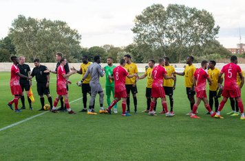 Borough line up in yellow and black for the first time