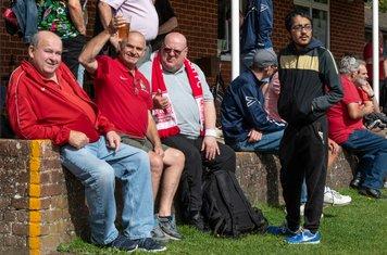 Borough supporters...