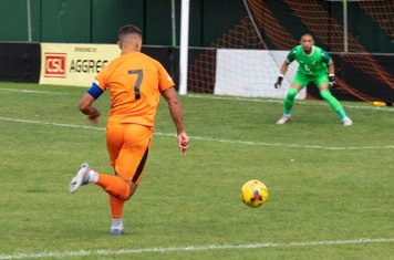 ...captain Nathan Smart goes into the box...