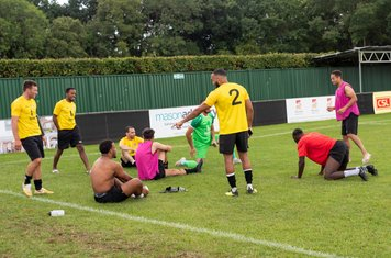 ...and the Borough players are able to relax