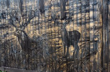 A fine mural by Jamie Smith...