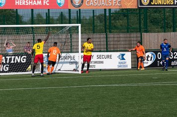 Arel Amu scores for Walton in injury time...