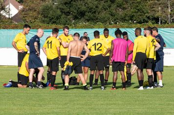 ...and the Borough players can cool down and reflect.