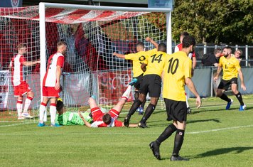 ...and Excellence Muhemba (14) scores his first league goal for Borough. 3 - 1 (91 mins)