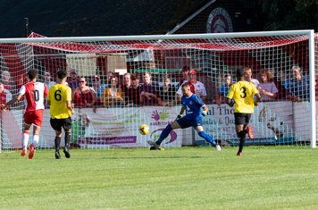 ...but a breakaway allows Marvin Brooks to score Poole's second goal (79 mins)...