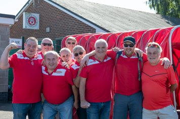The Train Travellers in good spirits as Borough take on the league leaders