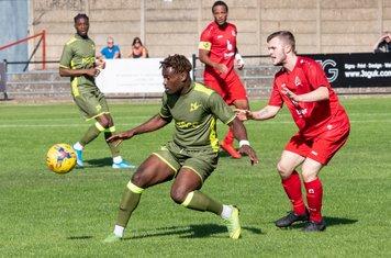 Luke Warner-Eley makes his Borough debut...