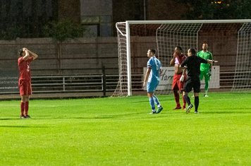 Jordan Ireland is unfortunate to concede a penalty...