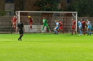 A valuable defensive header from Ryan Moss